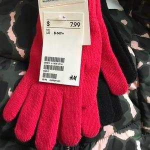 2-Pack Girls Gloves